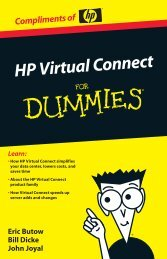 HP Virtual Connect For Dummies - UP2V