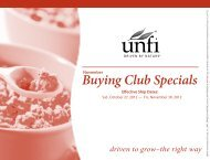 November Buying Club Specials Effective Ship Dates