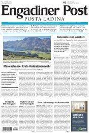 Engadiner Post Nr. 045 vom 17. April 2012