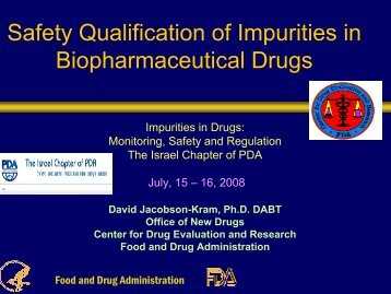 Safety Qualification of Impurities in Biopharmaceutical Drugs