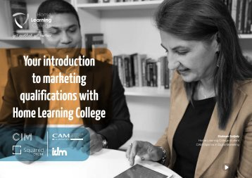 Your introduction to marketing qualifications with Home Learning College