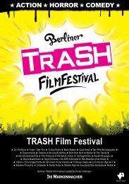 TRASH Film Festival Booklet 2015