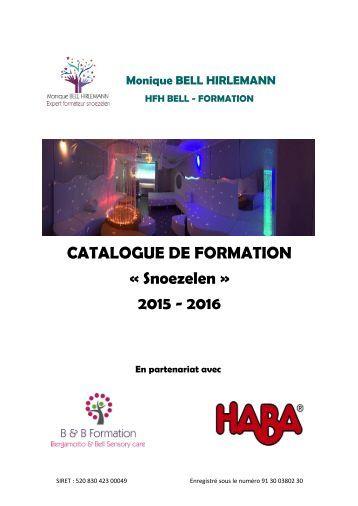 Catalogue de formation Snoezelen HFH Bell-Formation  2015-2016.pdf