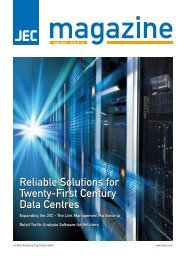 Reliable Solutions for Twenty-First Century Data Centres