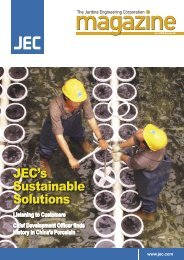 JEC's Sustainable Solutions