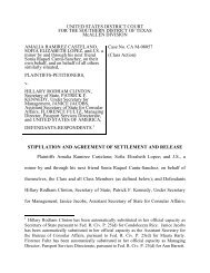 united states district court - ACLUTx.org - The American Civil ...