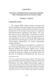 influence conflict Russian