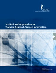 Tracking Research Trainee Information