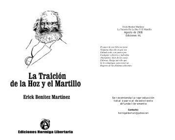 Traición De La Hoz Y El Martillo - Virus Editorial