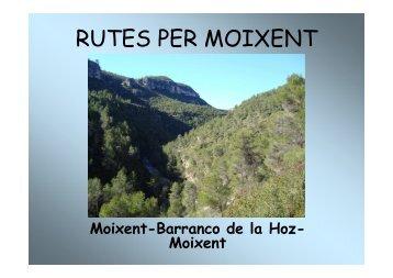 Ruta Moixent-Barranco de la Hoz-Moixent [Modo de compatibilidad]