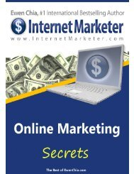 Congratulations! You now have the Master Resale Rights to this report worth $97!