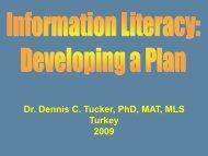 Information Literacy - ILIPG