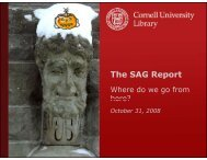 The SAG Report