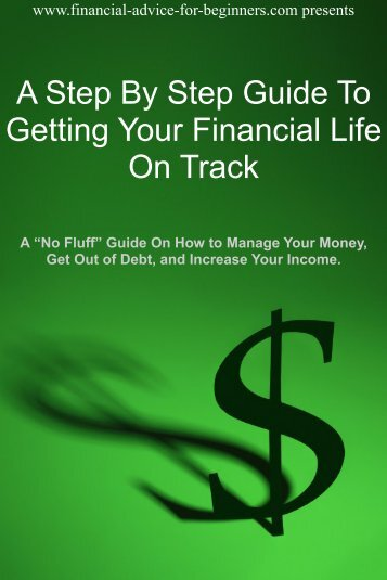 Getting Your Financial Life On Track
