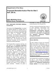 Department of the Navy Proposed Remedial Action Plan for Site 5 Soil (OU 4)