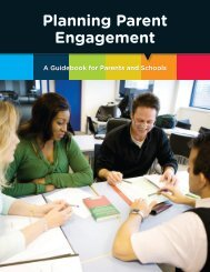 Planning Parent Engagement
