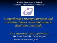 its Positive Impact on the Motivation to Read One Case Study
