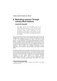 8 Motivating Learners Through Literacy Work Stations