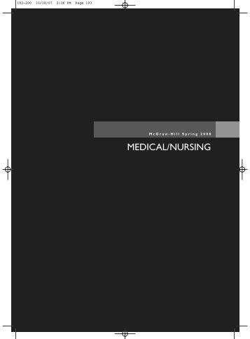 MEDICAL/NURSING