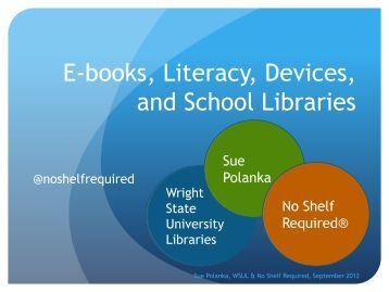 E-books Literacy Devices and School Libraries