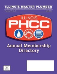 IllInoIs PHCC MeMbers by CoMPAny - Mission Statement
