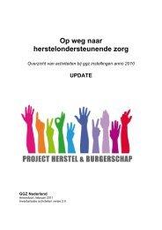 Inventarisatie HOZ - GGZ Nederland