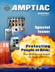 Issue focus: How DOD Research Protects People and Buildings