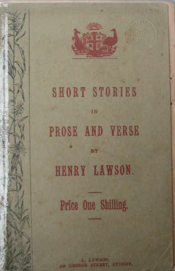 Lawson, Henry. - Project Gutenberg Australia