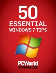 50 Essential Windows 7 Tips - Cockle.us