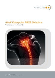 JiveX Enterprise PACS Solutions - Visus Technology Transfer GmbH
