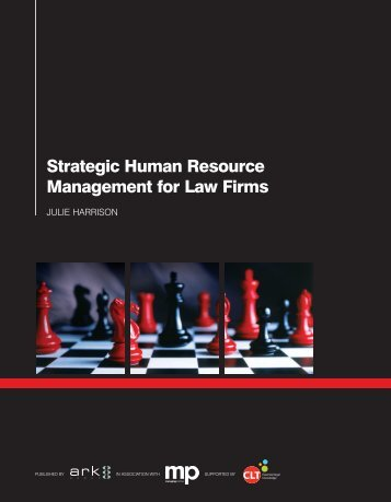 Management for Law Firms