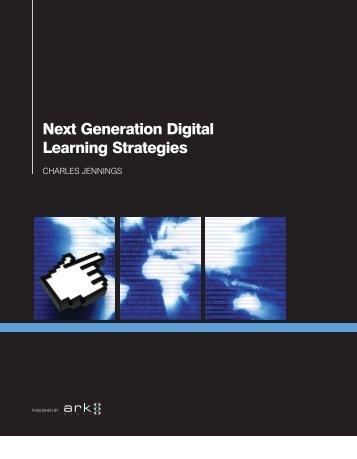 Next Generation Digital Learning Strategies