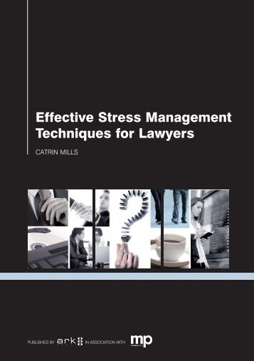 Effective Stress Management Techniques for Lawyers