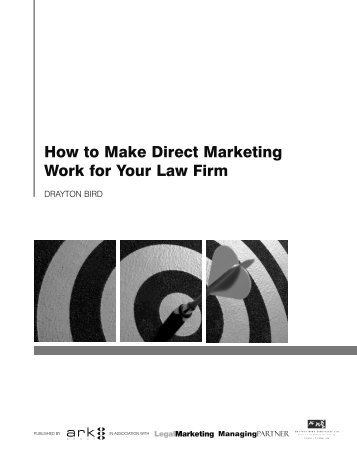 How to Make Direct Marketing Work for Your Law Firm