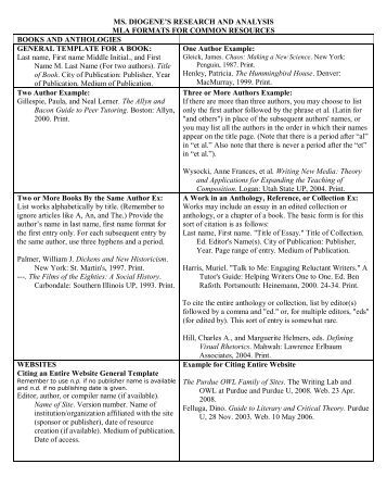 mla research paper formats Just remember that mla guidelines are designed to be flexible, and the more research and writing you do, the task of building different types of citations will become less daunting and when you do need help, don't hesitate to contact your instructor or ask any of the aau librarians for assistance.