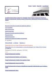 Proposición de Ley de reconocimiento y protección integral a las ...