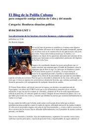 El Blog de la Polilla Cubana