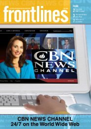 CBn news Channel 24/7 on the world wide web - The 700 Club ...