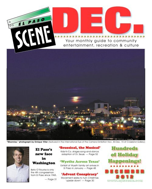 To Download The Entire Issue El Paso Scene