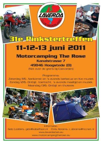 31e Pinkstertreffen 11-12-13 juni 2011
