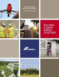 BUILDING A SMART WORLD TOGETHER - Cemex