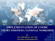 Indonesia - United Nations Office on Drugs and Crime