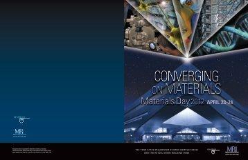 Materials Day 2012 - Materials Research Institute - Pennsylvania ...