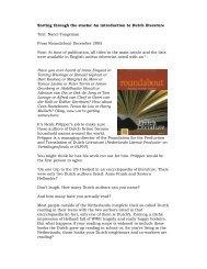 Sorting through the stacks: An introduction to ... - Nanci Tangeman