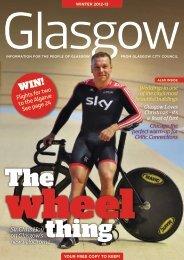 Sir Chris Hoy on Glasgow's new velodrome - Glasgow City Council