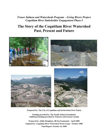 Phase I - Coquitlam River Watershed