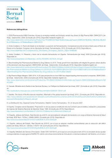 Referencias bibliográficas - Abbott