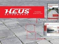 Prospekt - Inspirationen www.heus.de