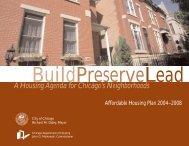 5 Yr. Housing Plan Book - Chicago Rehab Network