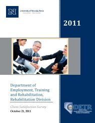 Department of Employment, Training and Rehabilitation ...